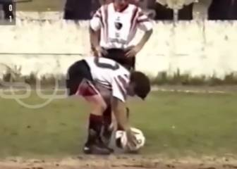 Lionel Messi's early exhibition as a kid at Newell's Old Boys