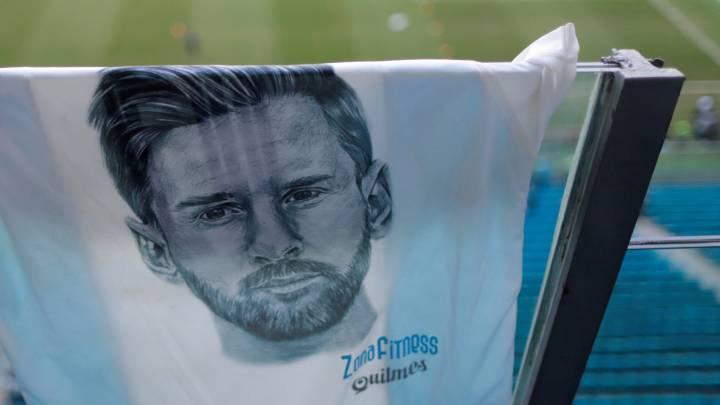 Brasil invita a Messi a dejar su huella en Maracaná