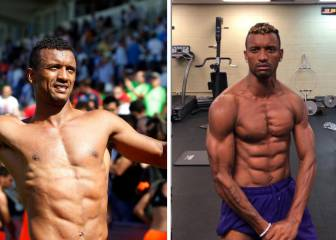 Ex-Man Utd star Nani shows off incredible body transformation