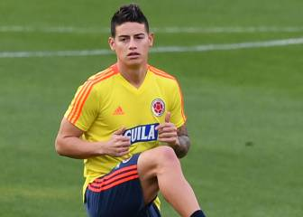 Atlético Madrid considering James Rodríguez move