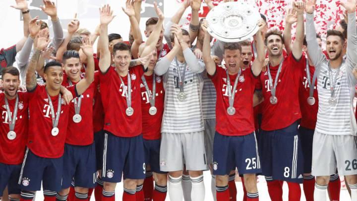 Calendario Bayern.Calendario De La Bundesliga 19 20 Bayern Dortmund Y Derbis