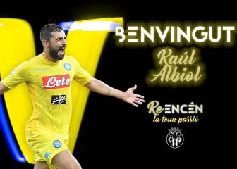Raúl Albiol signs for Villarreal