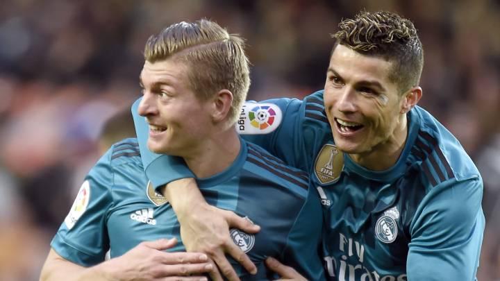 Kroos y las barbacoas de su vecino Cristiano Ronaldo