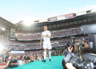 Ten years since Cristiano Ronaldo's Real Madrid bow