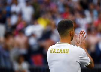 Cristiano's number '7' reserved for Hazard
