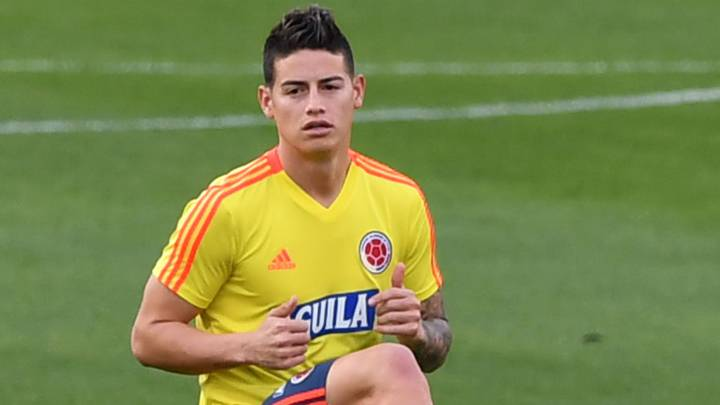 huge selection of 2fab5 1f229 James Rodríguez stalling on Napoli with Atlético in mind ...