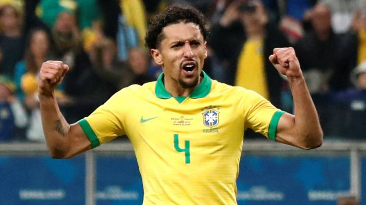 Marquinhos, jugador de Brasil.