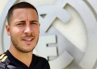 Hazard starts work with Madrid: