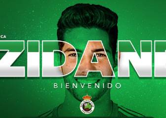 Official: Luca Zidane joins Racing de Santander