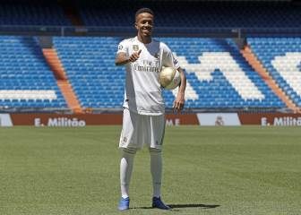 Eder Militao unveiled as new Real Madrid player