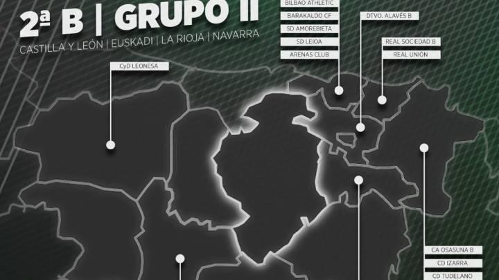 Segunda B: así quedan los grupos para la 2019-20 - AS.com
