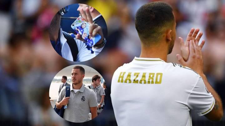 El jugador belga del Real Madrid, Eden Hazard.