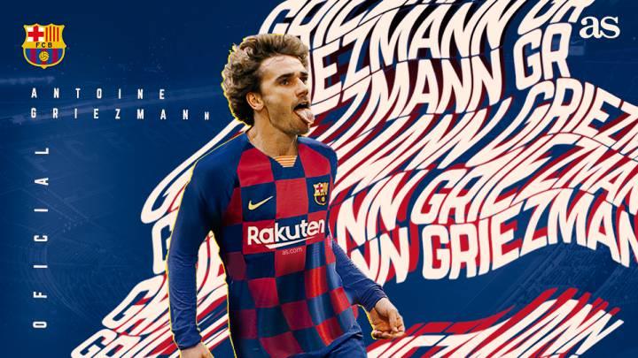 Barcelona Announce Griezmann As Com