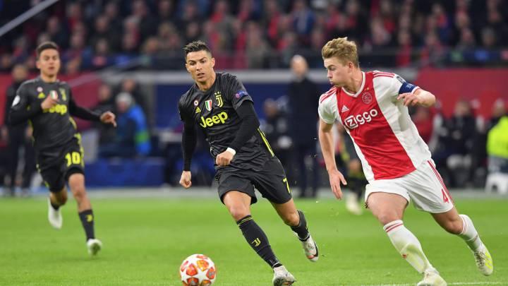Cristiano Ronaldo y Matthijs de Ligt
