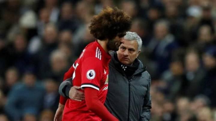 Fellaini se rinde a Mourinho