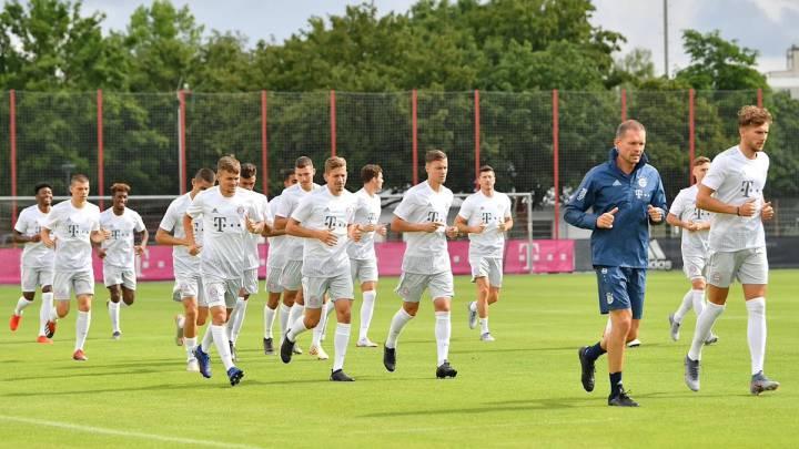 El Bayern viaja a EEUU a falta de más fichajes