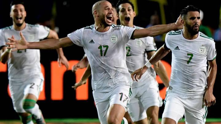 Resumen y goles del Argelia 2-1 Nigeria de la Copa de África.
