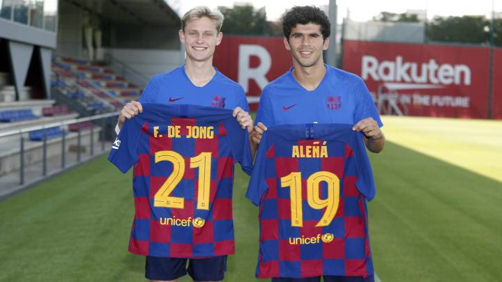 De Jong Alena Gives Up 21 For New Barcelona Star As Com