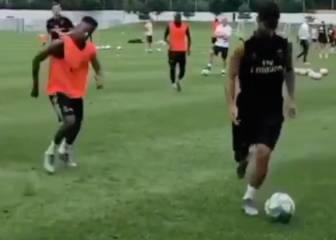 Asensio's silky smooth control takes out Vinicius, Rodrygo