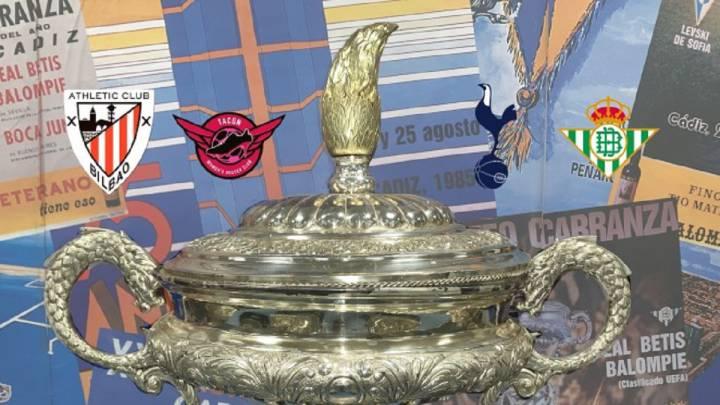 Betis Tacon Athletic Y Tottenham Jugaran El Trofeo Carranza As Com