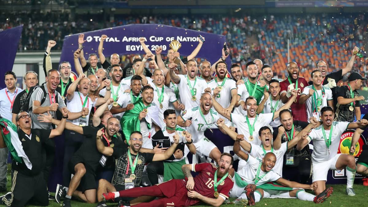 Argelia, campeón de la Copa de África 29 años después - AS.com