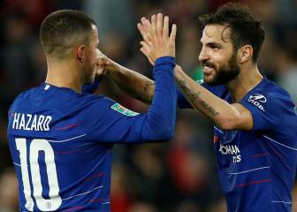 Fabregas explains why Hazard will suit Madrid better than he would Barcelona
