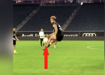 A new viral 'challenge'? Sergio Ramos takes it high