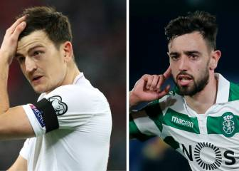 Man United set to splash out €160m on Maguire and Fernandes