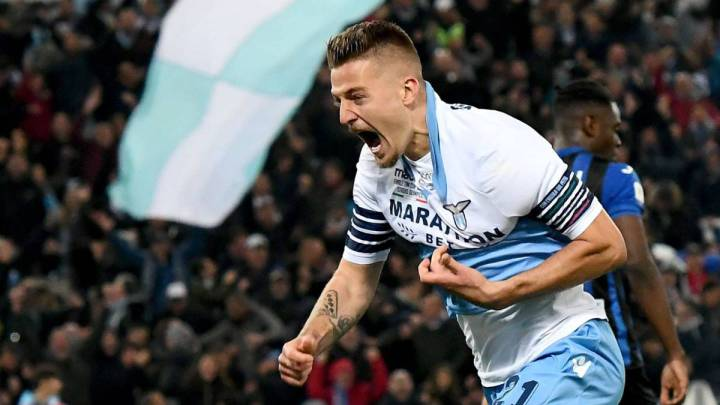 United, with the replacement of Pogba ready: Milinkovic-Savic.