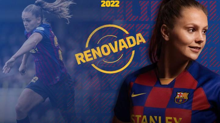 El Barça renueva hasta 2022 a su estrella, Lieke Martens