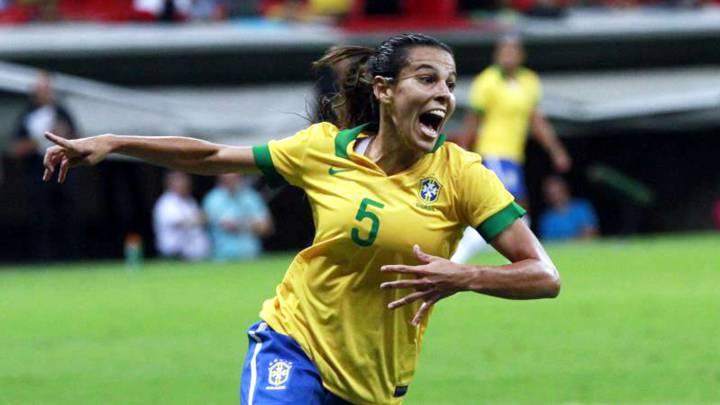 Ladies football brazilian Tokyo Olympics