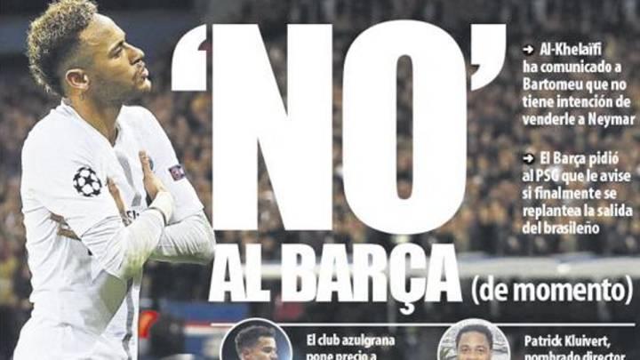 Neymar y Junior, los dos que quedan