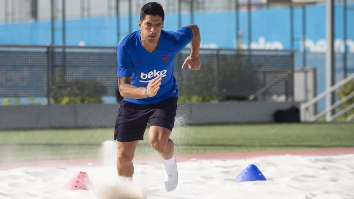 Suárez busca el perdón de la afición: ya se entrena