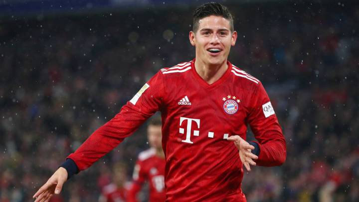100% authentic fa693 ee41a Real Madrid: James to stay at LaLiga giants, says report ...