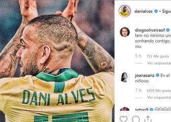Dani Alves' Insta employment plea: