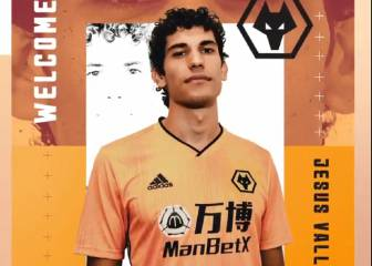 Vallejo loan move to Wolves confirmed