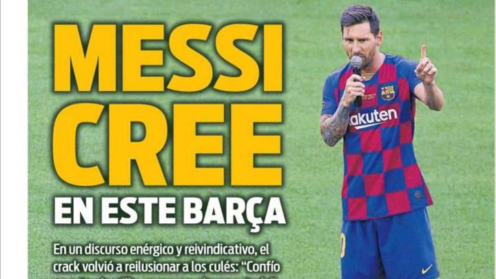 Messi es ilusión