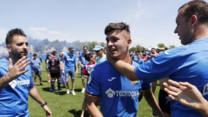 Hugo Duro es duda para el primer partido de la temporada