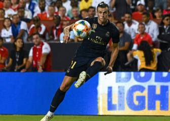 Zidane hands Bale and James message with Salzburg squad