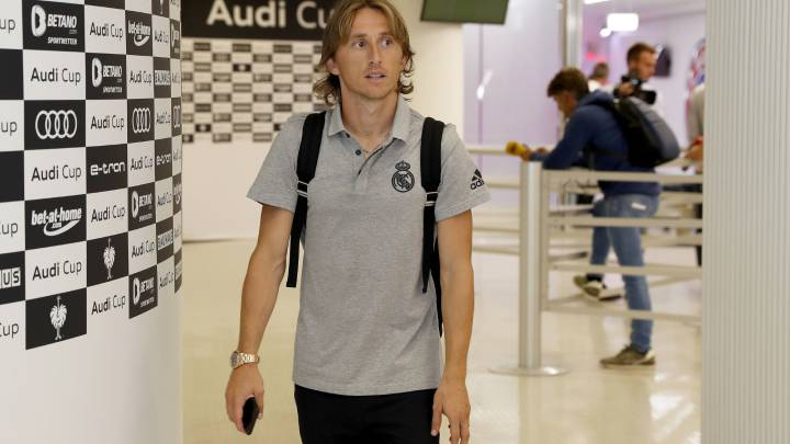 Modric did not travel to Austria ... By technical decision?