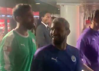 El flirteo descarado de Agüero con una fan tras ganar la Community Shield