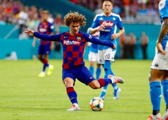 Bright displays but Griezmann yet to find the net for Barça