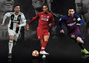 Messi, Cristiano and Van Dijk in line for UEFA Player of the Year