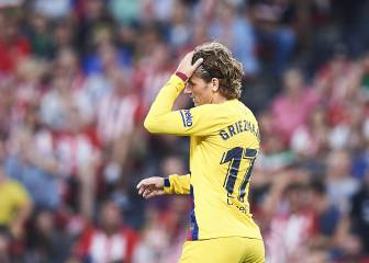 Griezmann stuck with Barcelona number 17 shirt