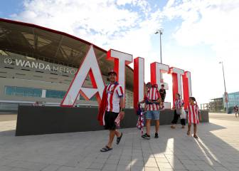 Atlético Madrid fans see results of Metropolitano facelift
