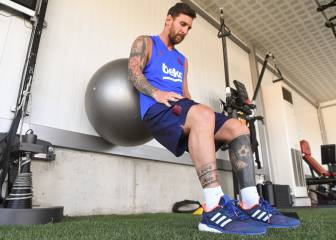 No sign of Messi at Barcelona training as he continues recovery