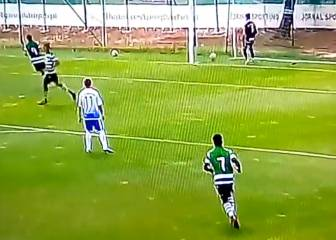 Sporting under-17s score in 13 seconds without touching ball