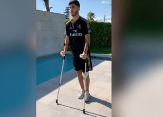 Marco Asensio's early steps