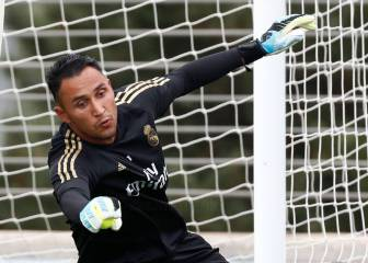 PSG deep in talks with Keylor Navas