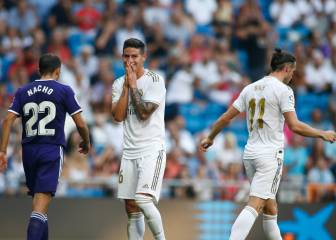Real Madrid: 22 attempts, 5 on target for just one goal